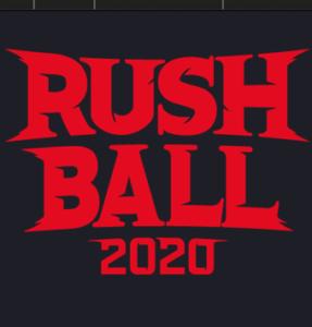 中止になった夏フェス、ラッシュボールのロゴ